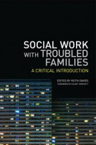 Social Work with troubled families book cover